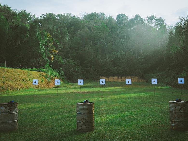 fire arm ranges